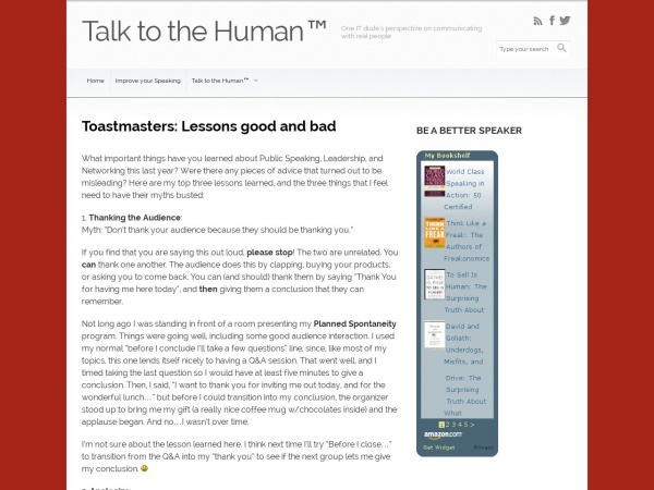 http://robchristeson.com/toastmasters-lessons-good-and-bad