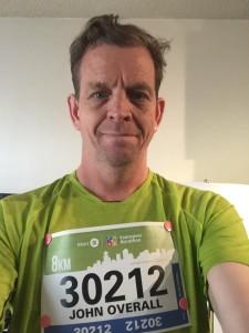 One year later May 3, 2015 at the BMO Marathon where I ran the 8k