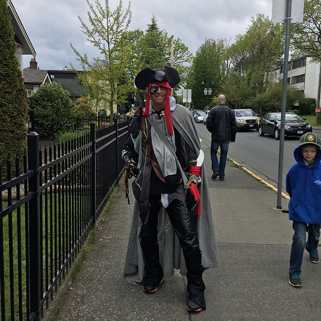 Buccaneer day in Esquimalt